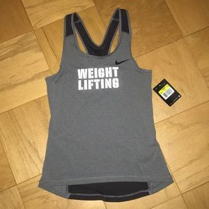 Nike Weight Lifting tank